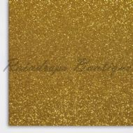 Fine Belle Yellow Glitter Panel